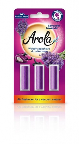 Air freshener for a vacuum cleaner Arola. Lavander