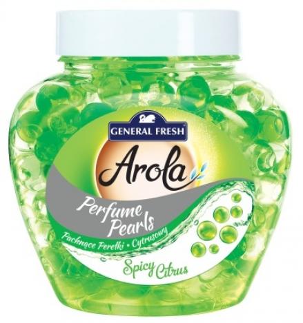 Air freshener gel Pearls 250ml. Spicy cirtus