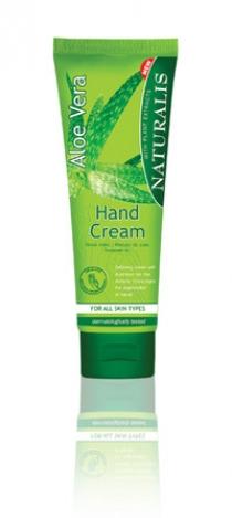 Hand cream Aloe Vera. 125ml