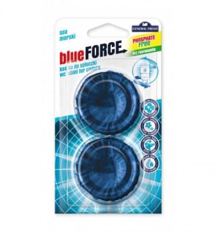 BLUE - Freshener for flushing tank - 2 pcs.