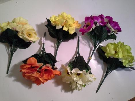 Artificial flower of anemonus 26cm