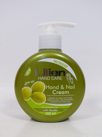Hand cream LILIEN 300 ml. Olive Oil